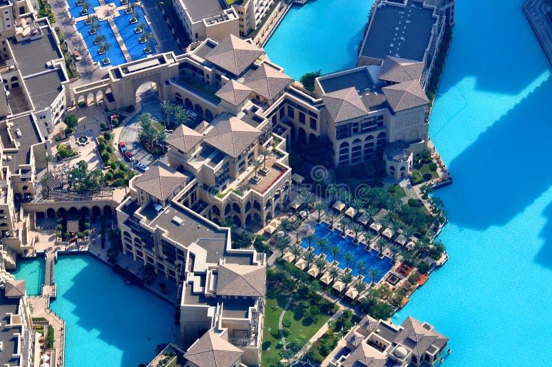 Holiday in Dubai hotel royalty free stock photo