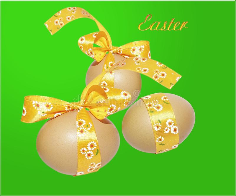 A holiday is Easter stock image
