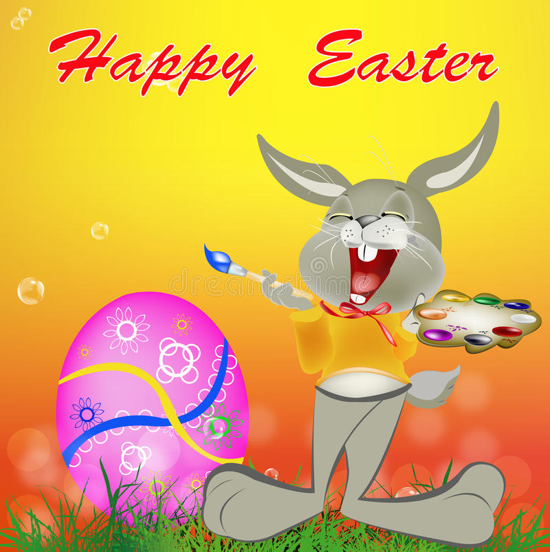 Download Holiday easter.Happy Hair stock illustration. Illustration of holidays - 39509461