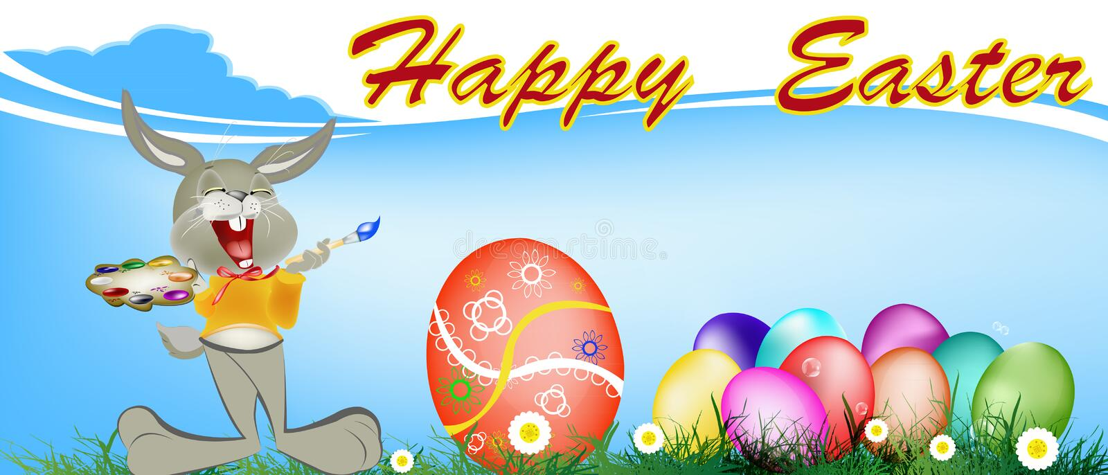 Download Holiday easter.Happy Hair stock illustration. Illustration of abstract - 39509475