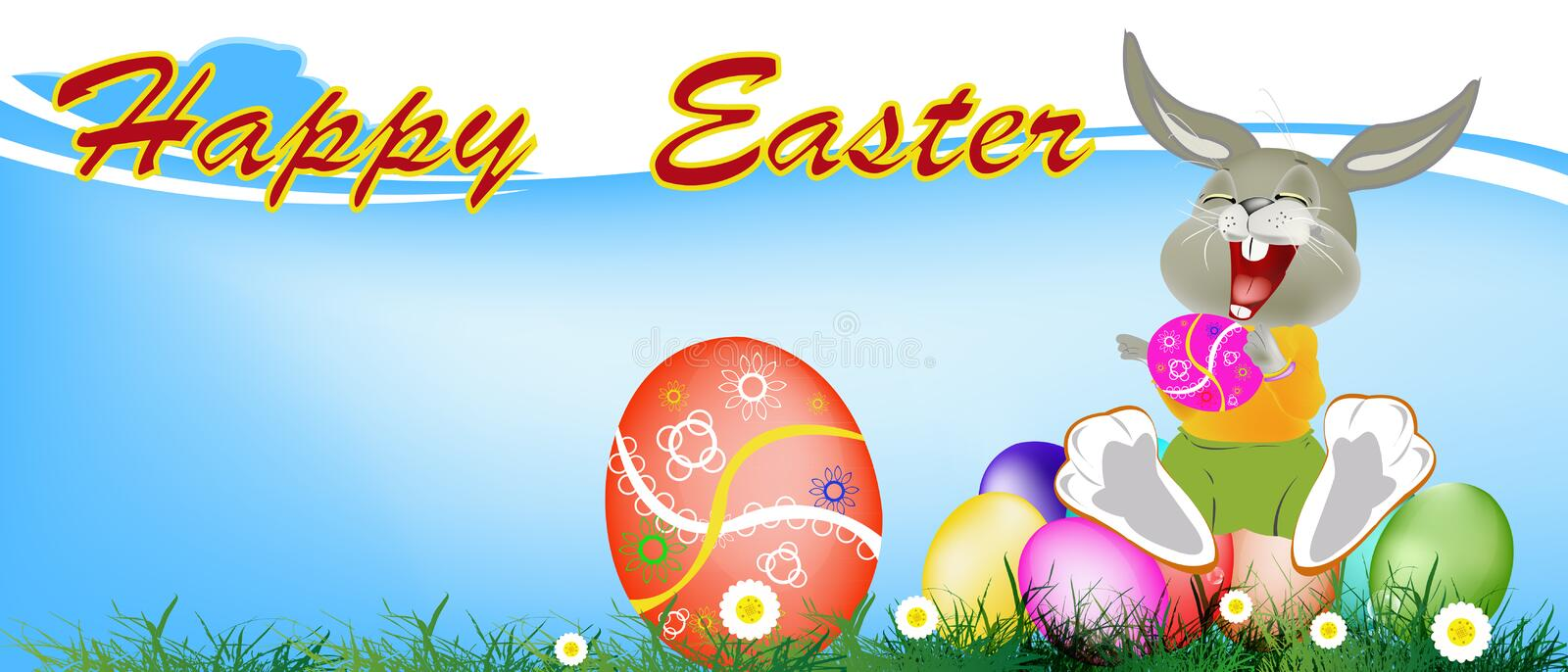 Download Holiday easter. stock illustration. Illustration of illustration - 39509476
