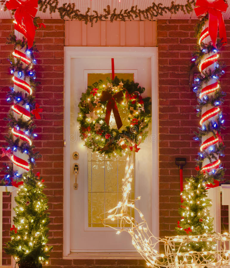 Download Holiday Entrance stock photo. Image of glowing, glow - 22427134