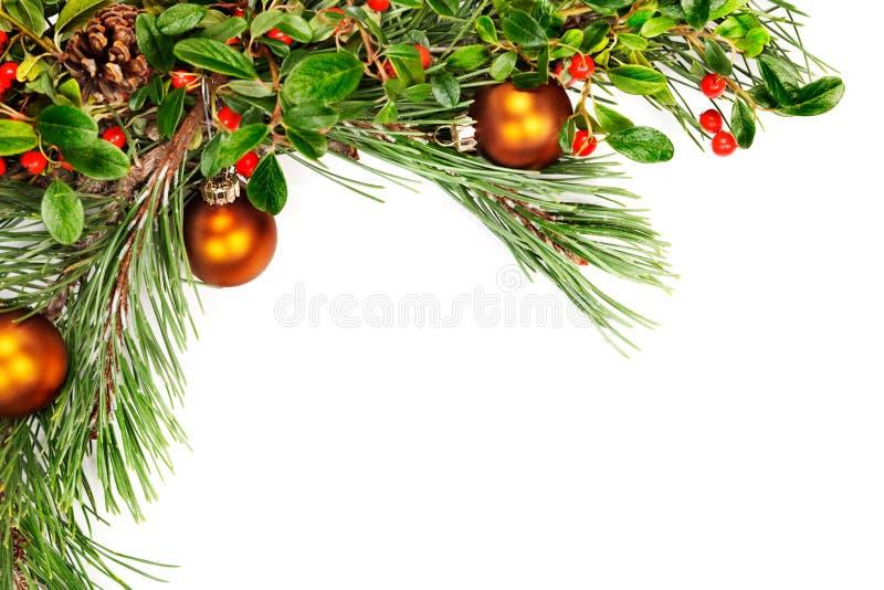 Holiday garland royalty free stock photo