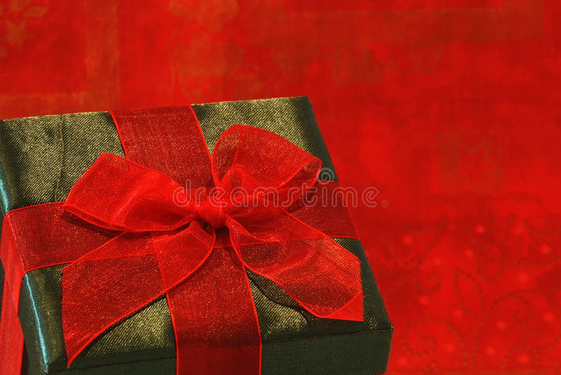 Holiday Gift stock photos