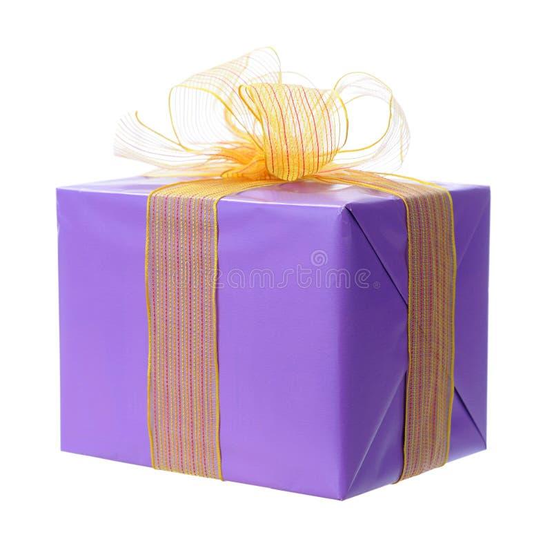 Holiday Gift Box Royalty Free Stock Photos