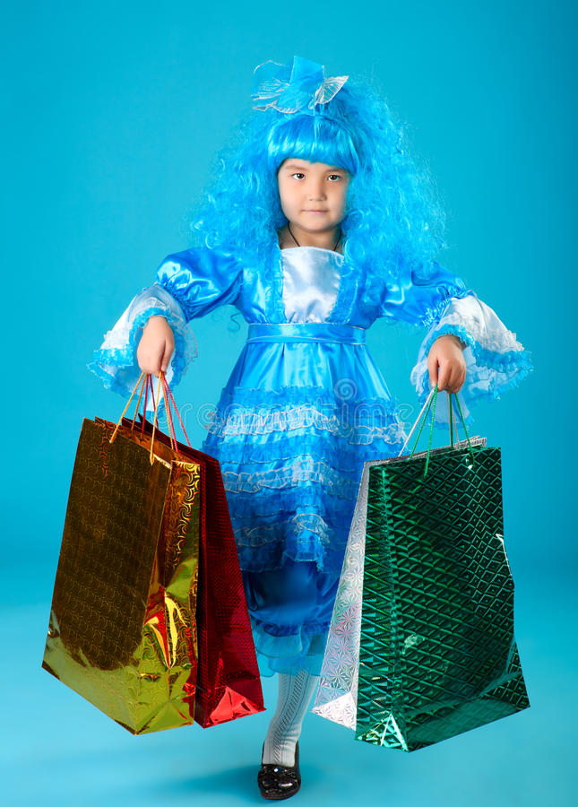 Download Holiday gifts. stock image. Image of little, people, female - 23347959
