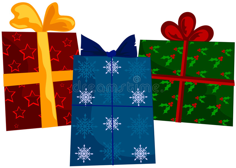 Holiday Gifts vector illustration