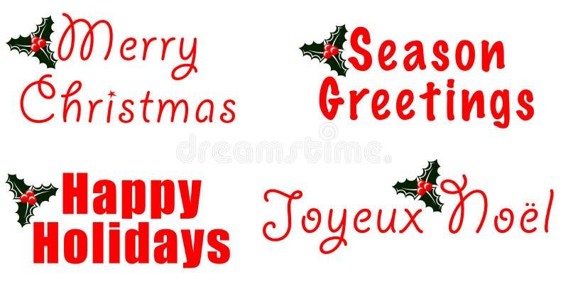 Holiday Greetings Royalty Free Stock Image