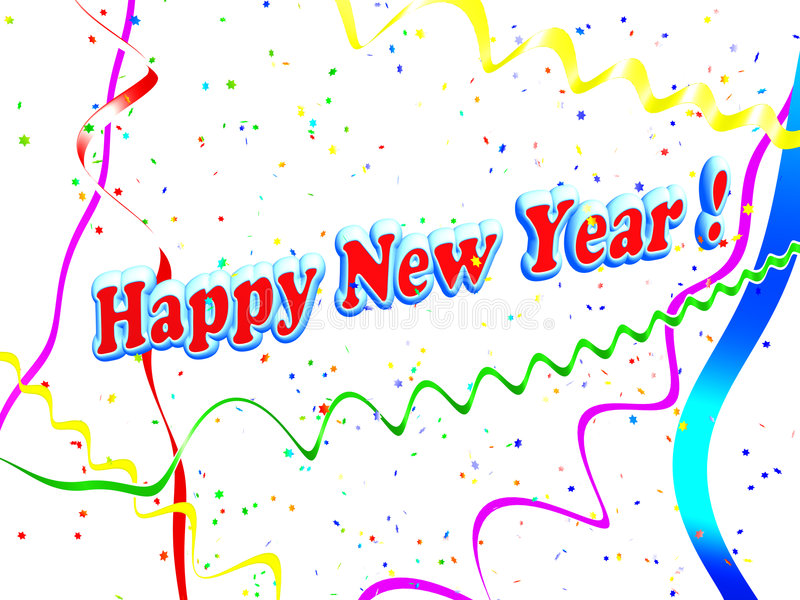 Download Holiday Happy New Year Background Stock Illustration - Image: 6972526