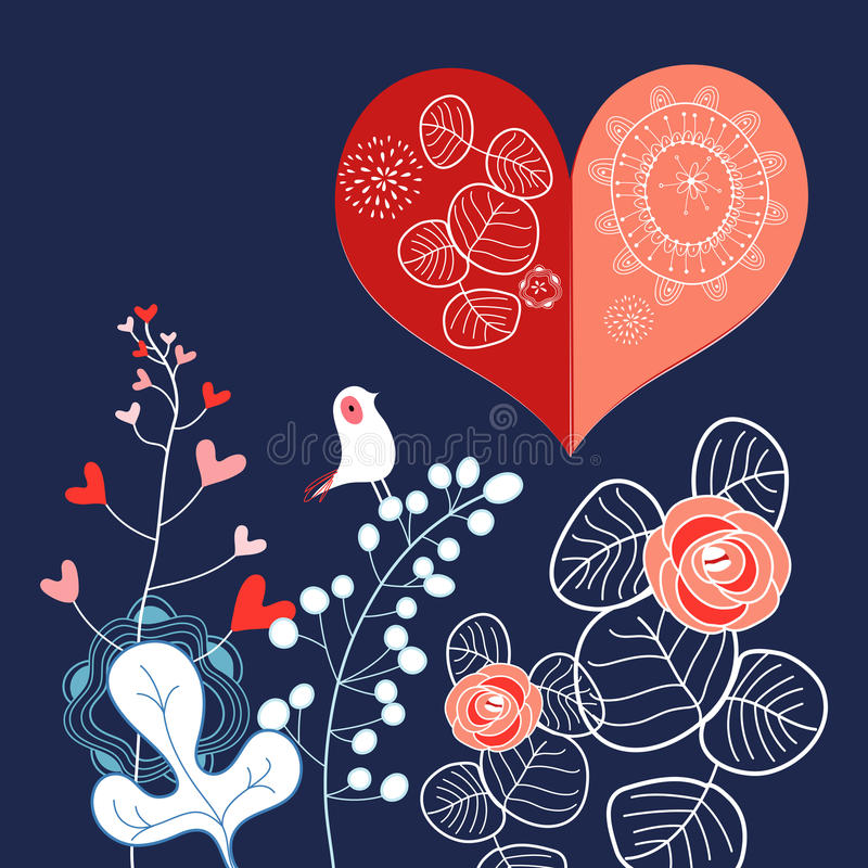 Download Holiday heart stock vector. Image of creativity, decor - 29012738