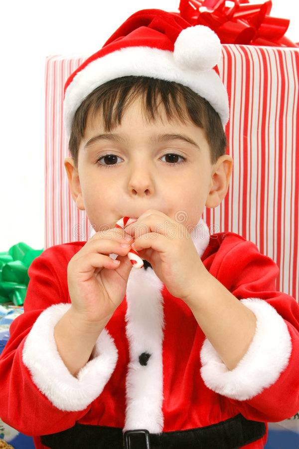 Holiday Helper stock photography