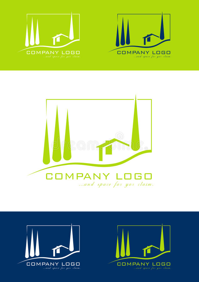 Download Holiday Home Logo Stock Vector Illustration Of Cottage