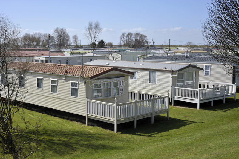 Holiday Homes royalty free stock photography