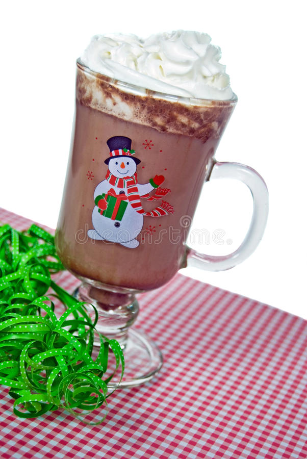 Holiday Hot Chocolate royalty free stock photos