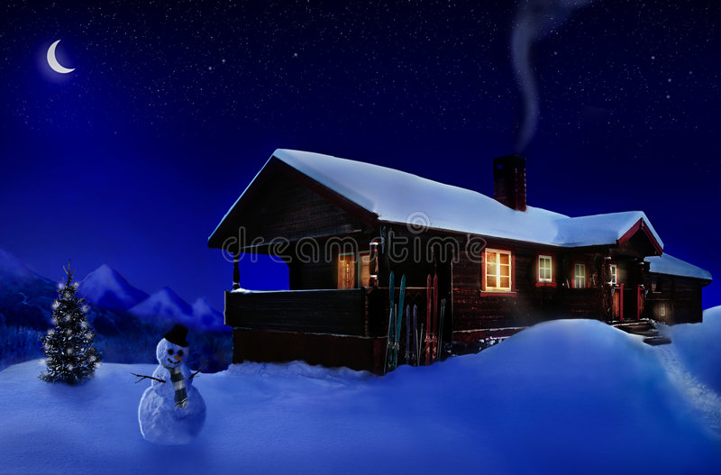 Download Holiday house stock illustration. Illustration of house - 703010