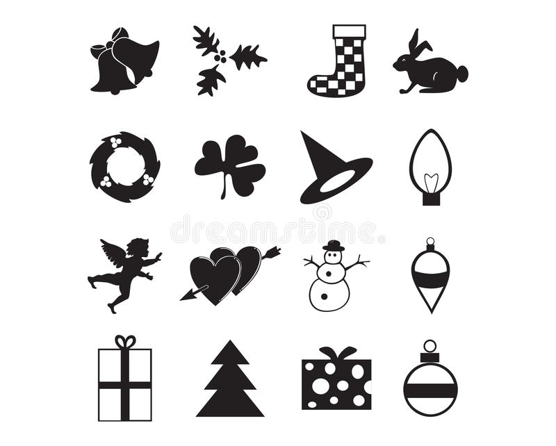 Download Holiday icon stock vector. Image of valentine, angel - 10884157