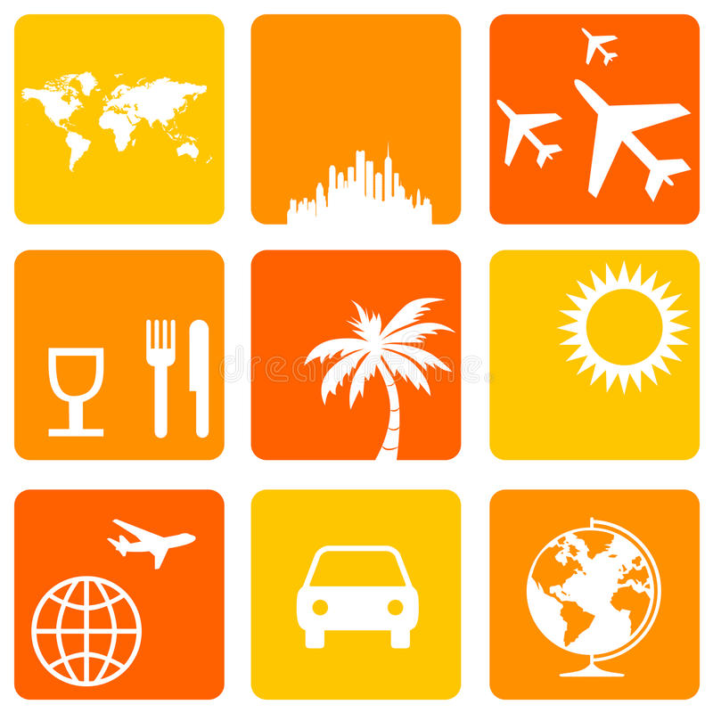 Holiday Icons Stock Photography