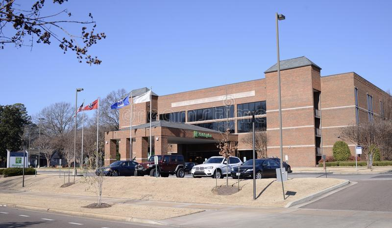 Holiday Inn all'università di Memphis immagini stock