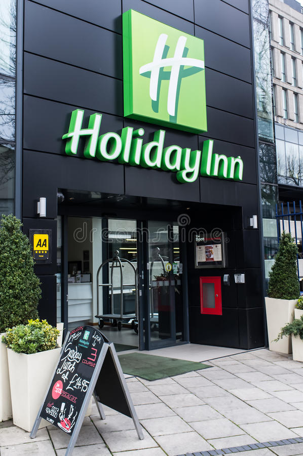 Holiday Inn - Bristol - Inglaterra fotos de stock royalty free