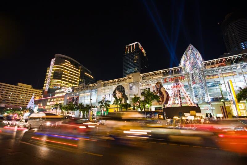 Holiday night Bangkok royalty free stock photos