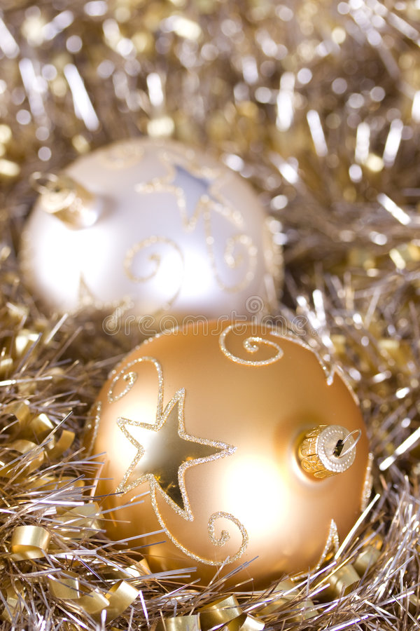 Holiday ornaments royalty free stock photos