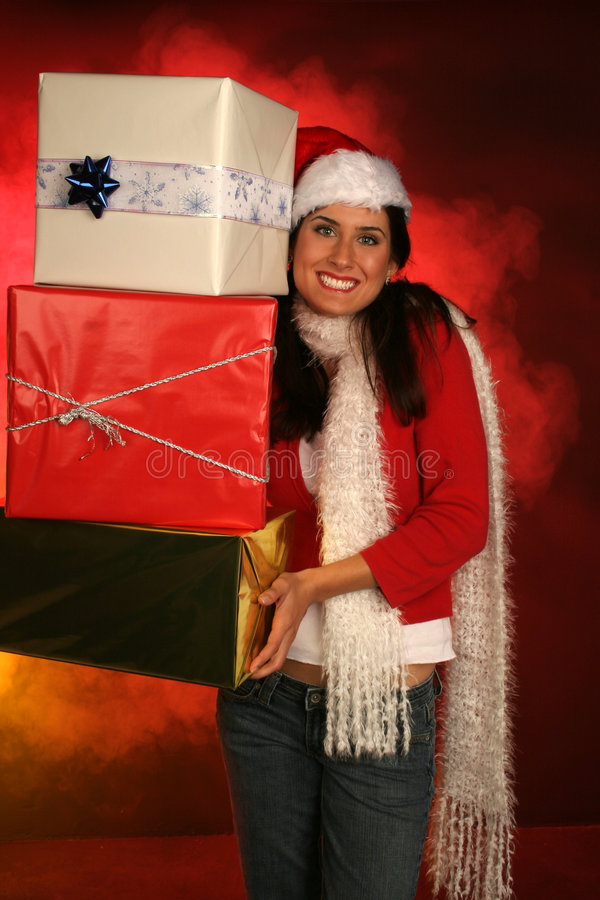 Holiday packages royalty free stock photos