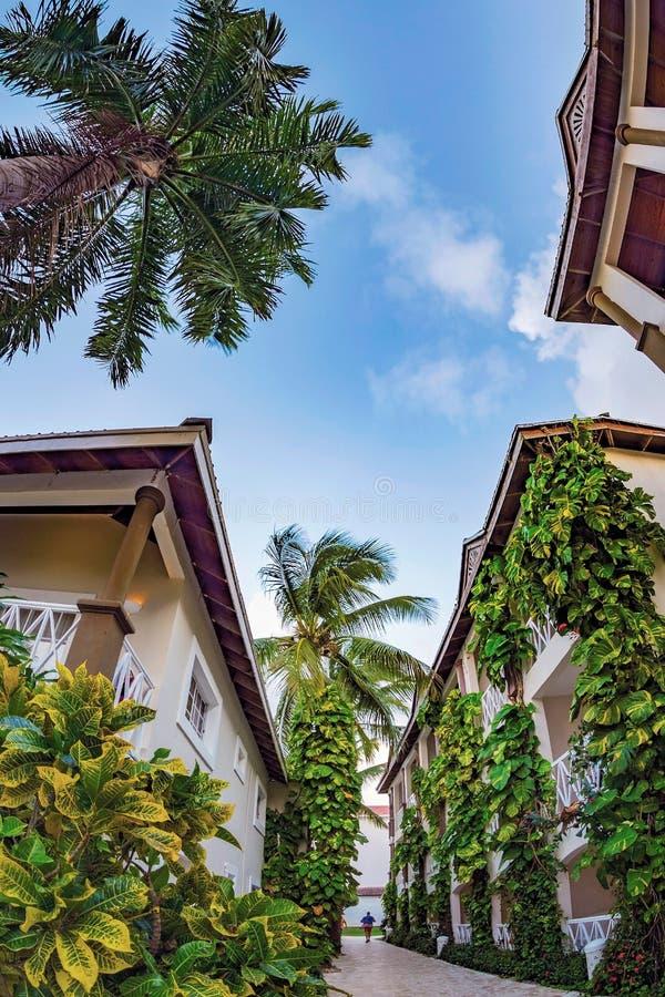 Holiday resort BE LIVE in Punta Cana, República Dominicana imagens de stock royalty free