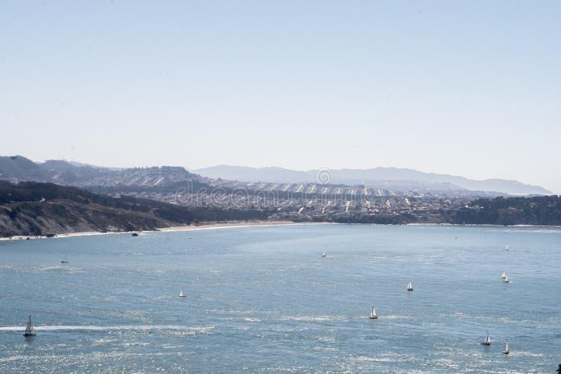 Holiday& x27; s海湾,旧金山 库存照片