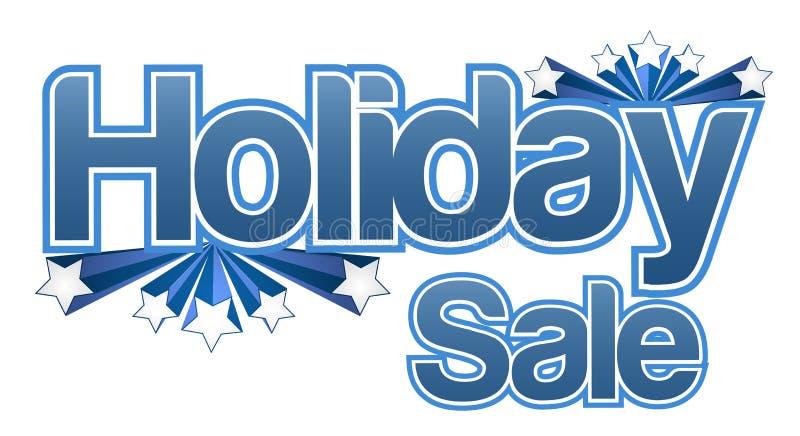 Holiday sale banner illustration design vector illustration