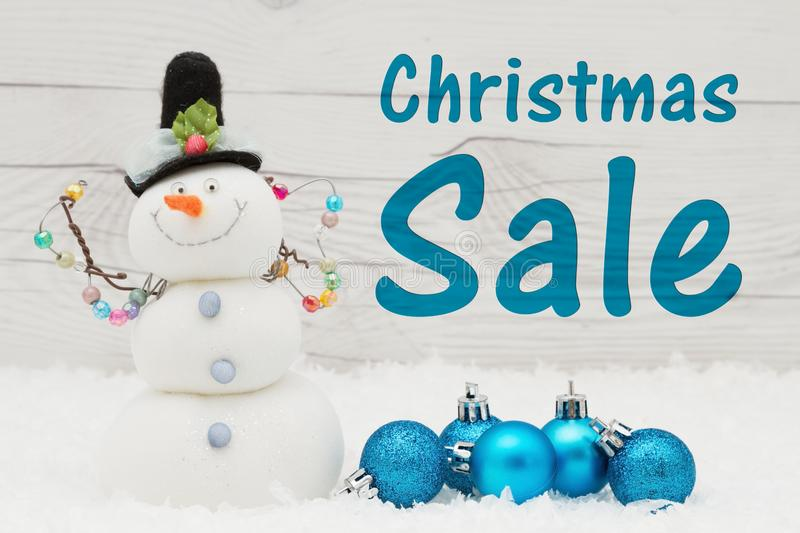 Holiday sale message stock photo