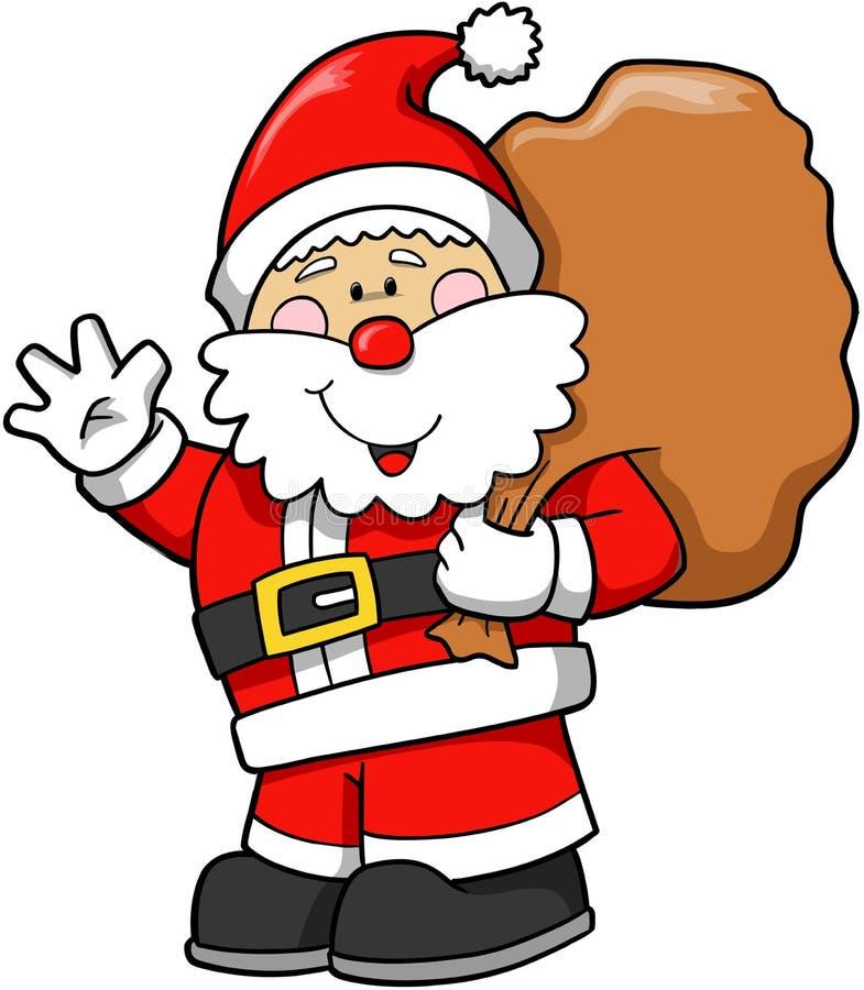 Holiday Santa Vector vector illustration