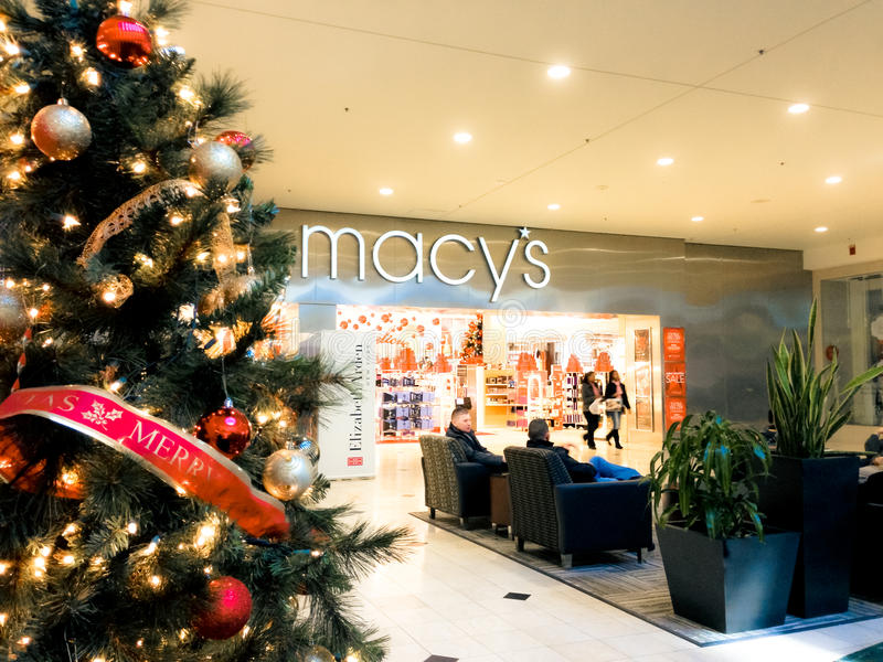 Holiday Shoppers stock photos