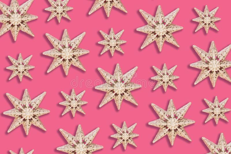 Holiday star pattern stock photos