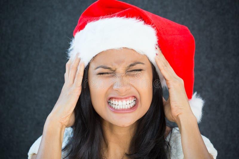 Holiday stress stock image