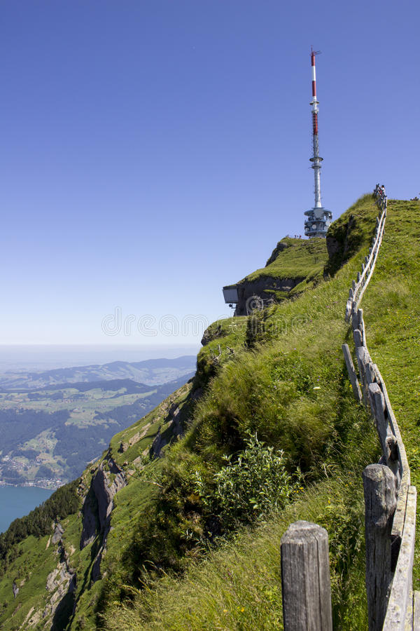 Holiday in Switzerland stock photo