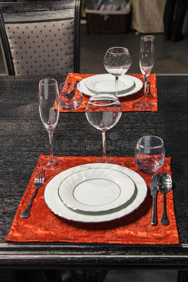 Holiday Table Royalty Free Stock Photo