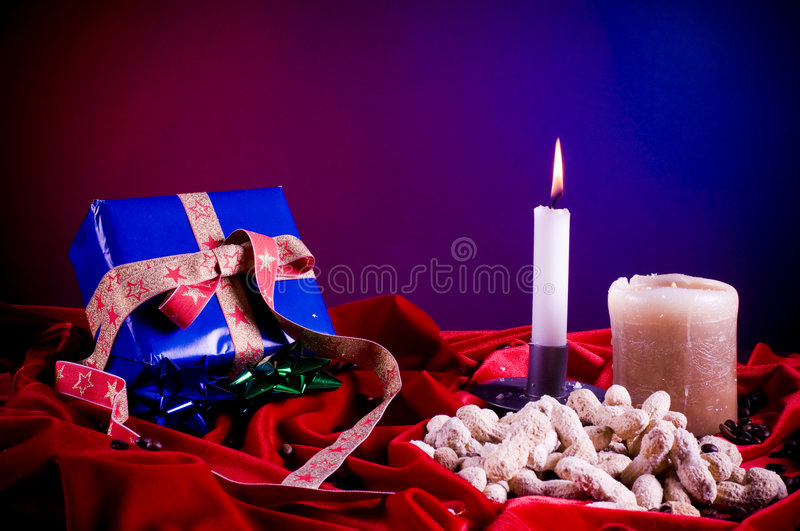 Download Holiday table setting stock photo. Image of flames, setting - 7384066