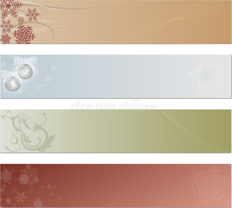 Free Holiday Tags Or Banners Stock Image - 7435291