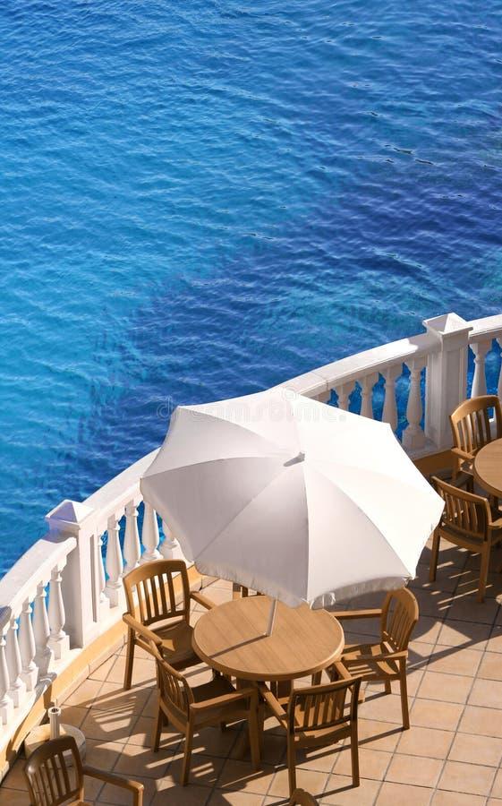 Holiday_terrace stock fotografie