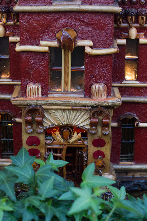 Holiday Train Show. At the New York Botanical Garden in the Bronx royalty free stock images