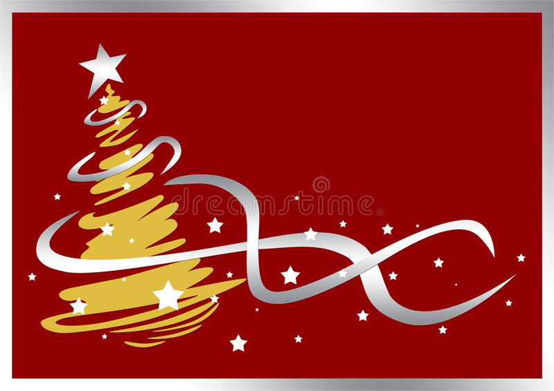 Holiday tree royalty free stock images