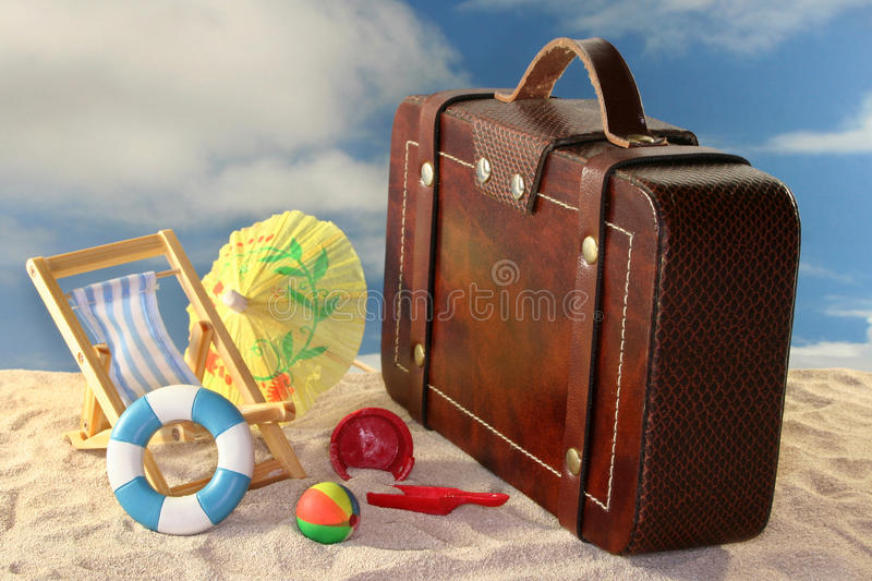 Download Holiday trip stock photo. Image of rest, suitcase, leave - 14854438