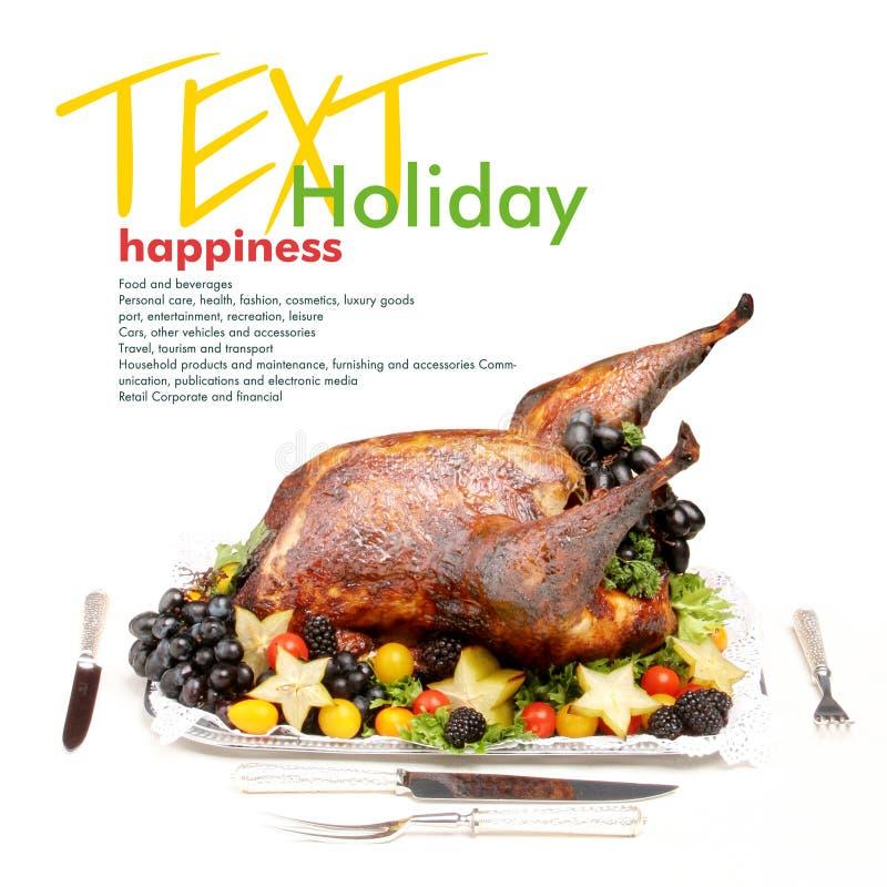 Holiday turkey stock images