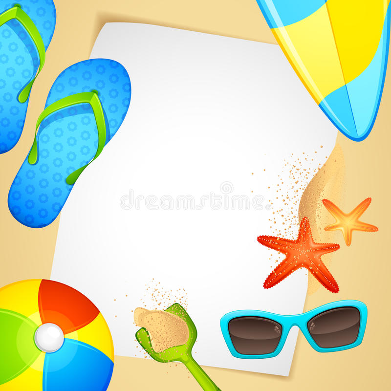 Download Holiday Vacation stock vector. Illustration of blank - 26092410