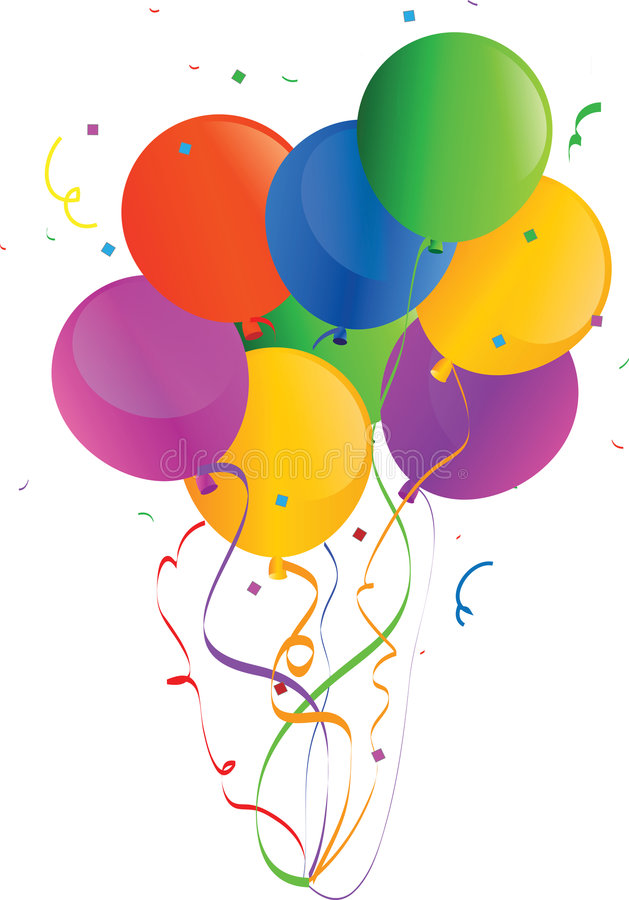 Free Holiday Vector Balloons 2 Royalty Free Stock Images - 6617409