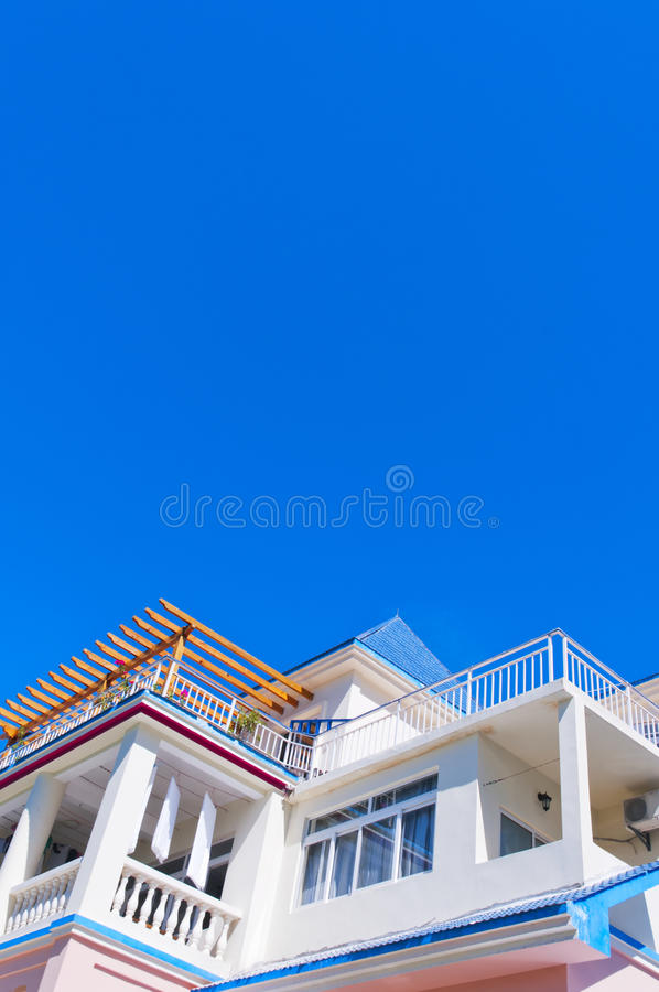 Holiday Villa Stock Photography