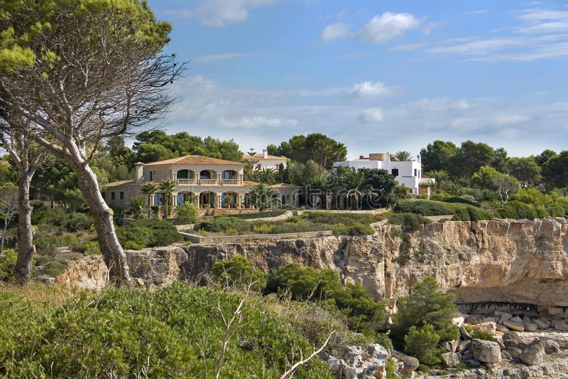 Download Holiday villa in Majorca stock photo. Image of luxury - 25790382