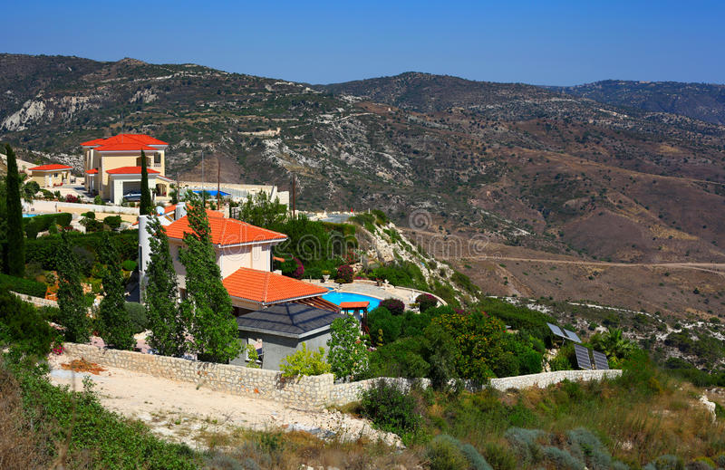 Download Holiday villas stock photo. Image of paphos, mountain - 33673330