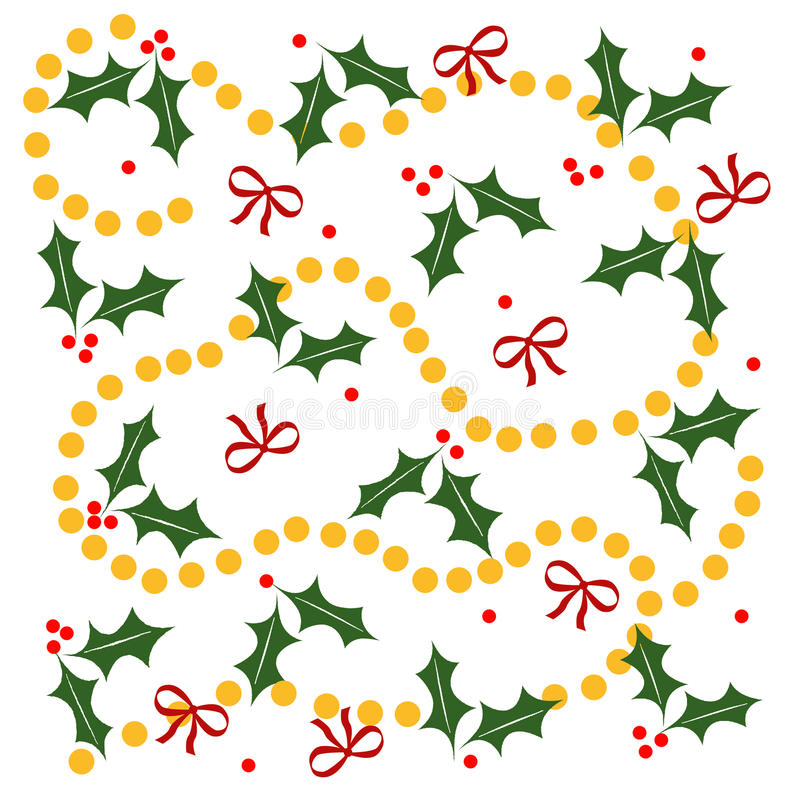 Holiday wrappings stock illustration