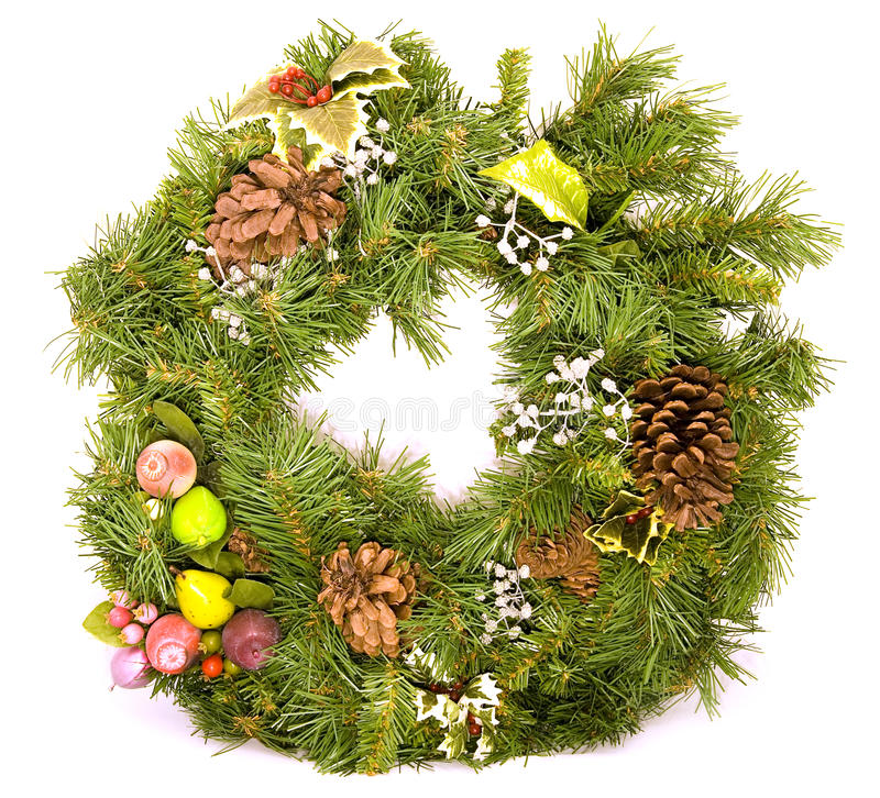 Download Holiday Wreath stock image. Image of holiday, entrance - 12029525